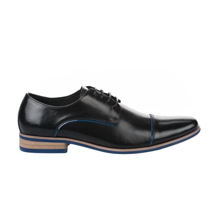 Chaussures Noir homme Noir KDOPA à LORICK Noir lacets Millim S0qOSwr