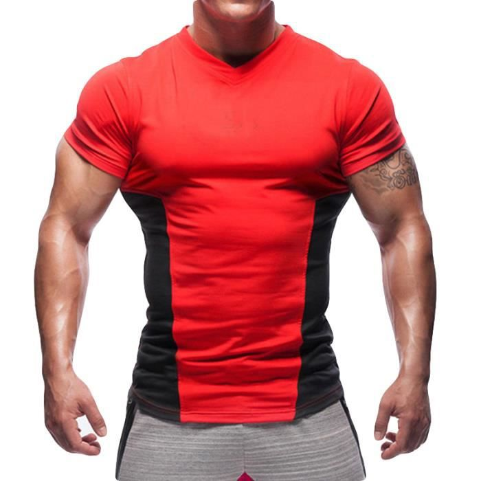 t shirt fitness homme pas cher