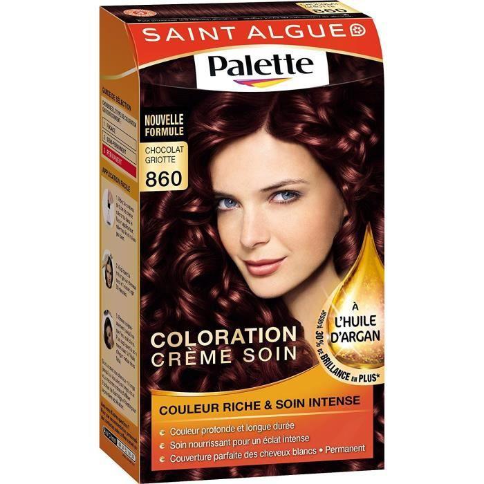 Couleur de cheveux chocolat griotte