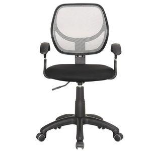 chaise de bureau a roulettes achat vente chaise de bureau a roulettes pas cher cdiscount. Black Bedroom Furniture Sets. Home Design Ideas
