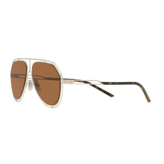 Lunettes de soleil Dolce   Gabbana DG-2176 -488-73 - Achat   Vente lunettes  de soleil Homme Adulte Doré - Cdiscount 94fc9dccc55e