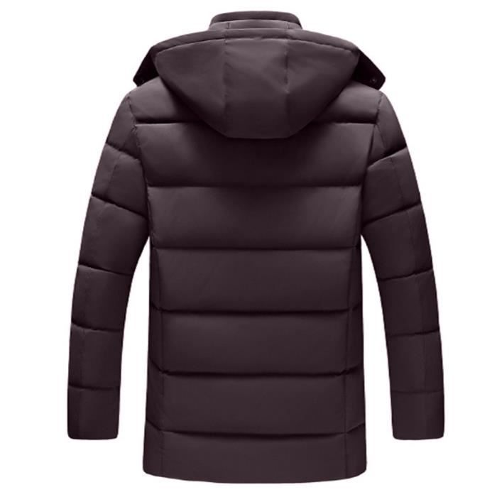 Et vent Coton Chaud Coupe Nouveau En Veste Manteau Homme Hat Automne mode2433 Style Hiver Zipper nHYxqXvv0