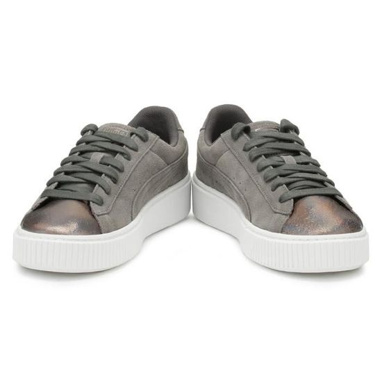 Gris Perle Trainers Suede 3 Femmes Puma Uk Lunalux nw8ONk0ZPX