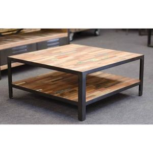 Table Basse Carree Achat Vente Table Basse Carree Pas Cher