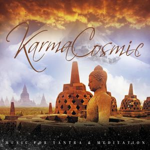 CD AMBIANCE - LOUNGE KARMACOSMIC Music For Tantra & Meditation CD