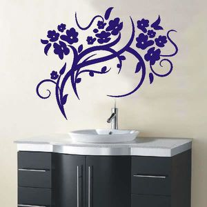 STICKERS stickers muraux autocollants d183 orchidee Mois 40
