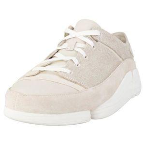 f2a988f6e12ce1 BASKET Clarks Originals Trigenic Evo Hommes Baskets Blanc