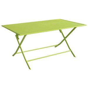 Table de jardin tout aluminium - Achat / Vente pas cher