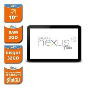 TABLETTE TACTILE Tablette tactile 10 pouces Samsung nexus tab dual
