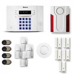 KIT ALARME Alarme maison sans fil TIKE SECURITE 4 à 5 pièces