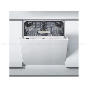 LAVE-VAISSELLE WHIRLPOOL Lave vaisselle intégrable WCIO3T321PE Bl