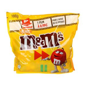 CONFISERIE DE SUCRE M&M's Sachet de Bonbons à la cacahuète et au choco