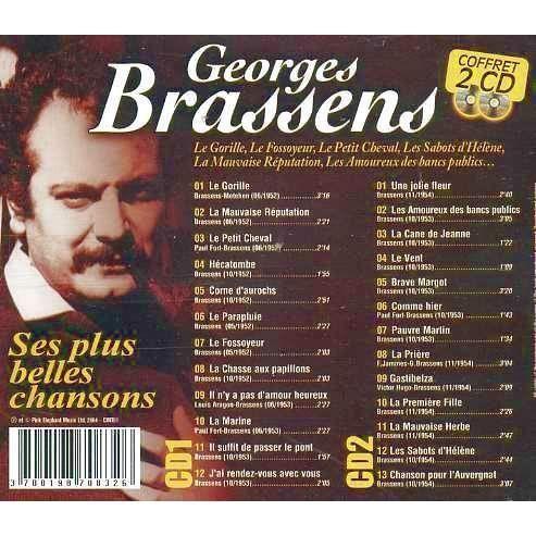 Georges Brassens Ses Plus Belle Chansons Achat Cd Cd Variété