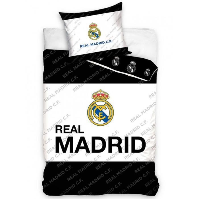 parure de lit real madrid - achat / vente parure de lit real