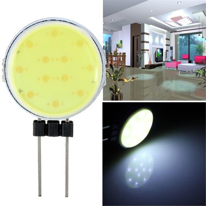 TEMPSA G4 2W COB LED Ampoule Blanc Spot Ultra DC 12V Maison Chambre