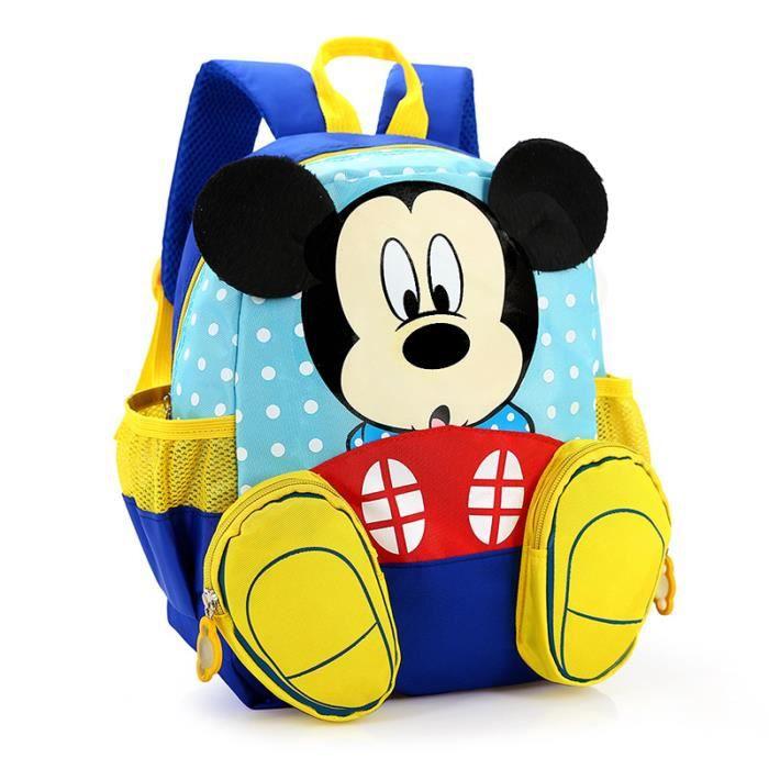 Exceptionnel Mickey Jardin d'enfants sac à dos,Dessin animé Sac à dos d'école  QE43