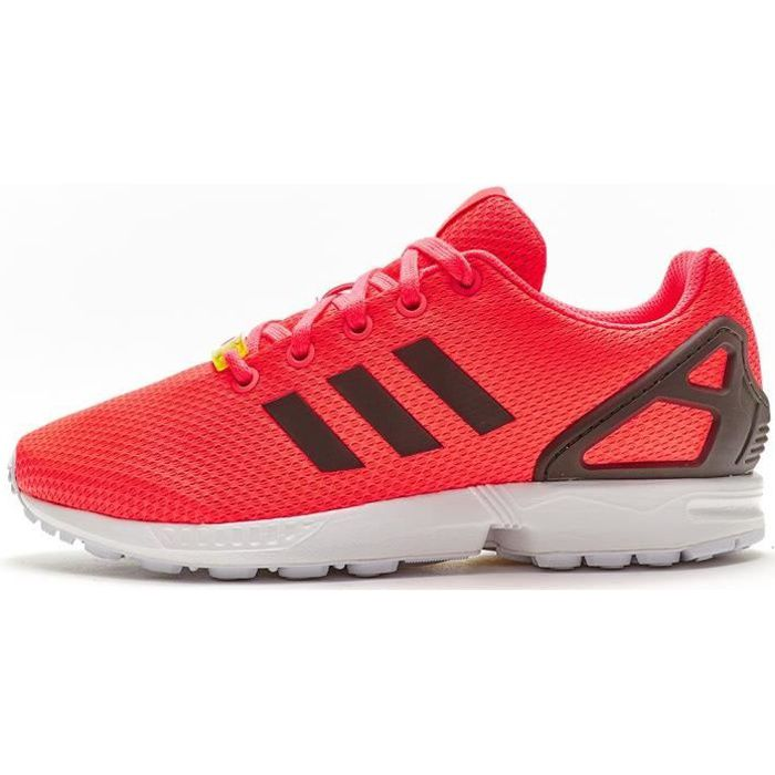 adidas original zx flux rouge