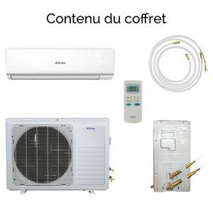 Pompe a chaleur reversible achat vente pas cher - Climatiseur fixe pret a poser ...