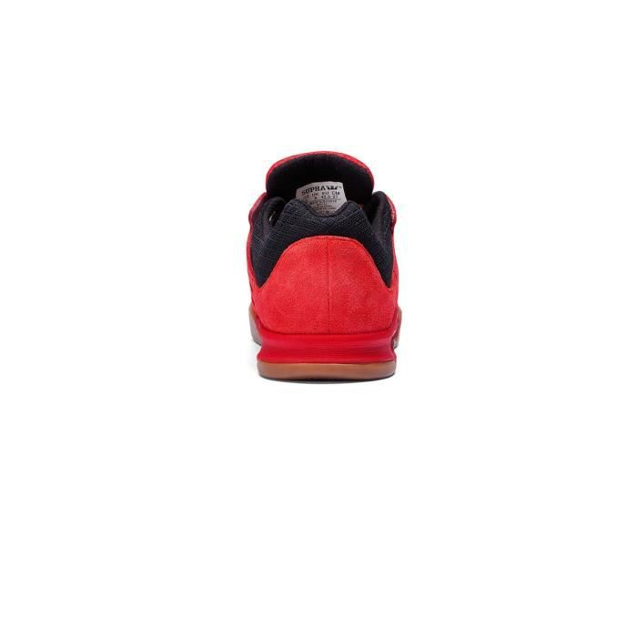 Chaussures Avex Red Black Gum - Supra