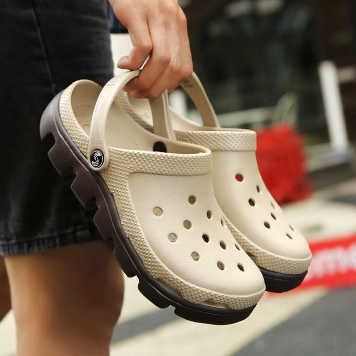Chaussons pour Mixtenoir 13 Les et les Sandales de plage Casual évider Chaussures Mesh Mode Chaussons d'extérieur_46851