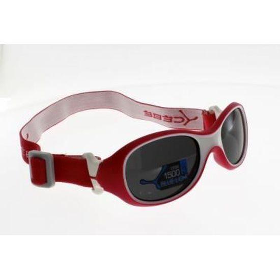 011c7aac07ea80 CEBE CHOUKA FRAMBOISE, sans branches FILLE 1-3 ans Indice 3, anti lumiere  bleue - Achat   Vente lunettes de soleil Fille Enfant - Soldes  dès le 9  janvier !