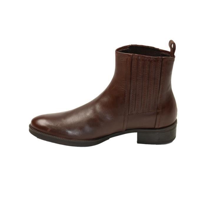 Boots femme ref_sen33535-rust