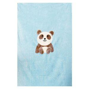 COUVERTURE - PLAID BÉBÉ DOMIVA Plaid Pandi Panda - Microfibre - 100x140 cm
