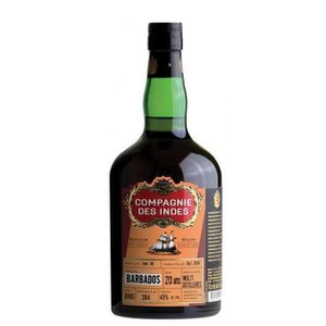 VODKA Compagnie Des Indes Barbados Multi-Distillerie 20