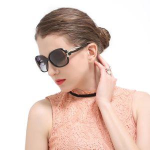 LUNETTES DE SOLEIL WoWa® Femme Lunettes de Soleil Polarisées Anti UV4