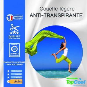 COUETTE Couette legere anti transpirante 200 gr/m² 240 x 2
