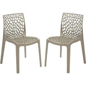 Chaise design gruyer