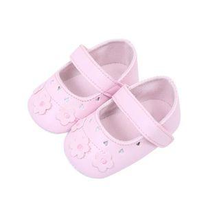 Frankmall®Bébé enfant filles chat berceau chaussures Soft semelle anti-dérapant espadrilles ROSE#WQQ0926303 uE8g5n
