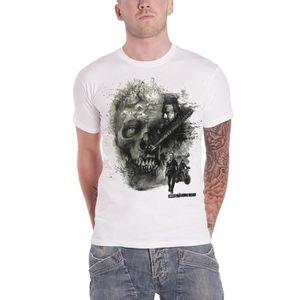 T-SHIRT The Walking Dead T Shirt Walker Skull nouveau offi