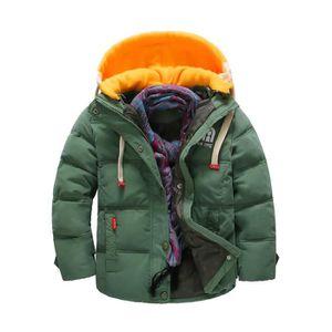 MANTEAU - CABAN anonywe Manteau chaud pour enfants hiver garçon co