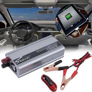 CONVERTISSEUR AUTO Convertisseur Auto 1500 W DC 12 V À AC 230 V Power