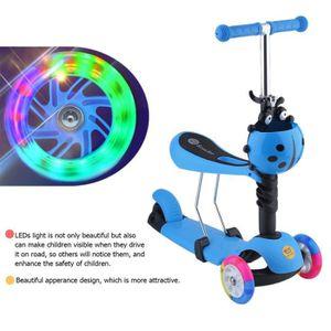 PATINETTE - TROTTINETTE Trottinette enfant 3 roues colorés tricycle de béb
