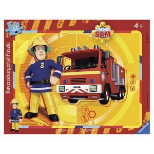 PUZZLE Puzzle 33 pièces : Sam le pompier et son camion