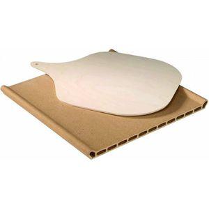 PIÈCE APPAREIL CUISSON PIERRE A PIZZA 360X345X10  pour four SCHOLTES …