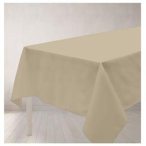 nappe tissu blanche achat vente nappe tissu blanche pas cher cdiscount. Black Bedroom Furniture Sets. Home Design Ideas