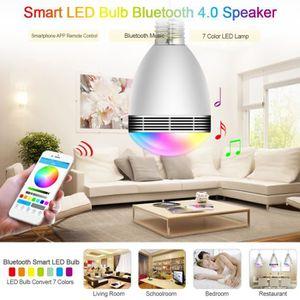 AMPOULE - LED TEMPSA E27 Ampoule bluetooth musique 120 ° LED Lum