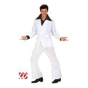 DÉGUISEMENT - PANOPLIE Déguisement disco dancer blanc-M