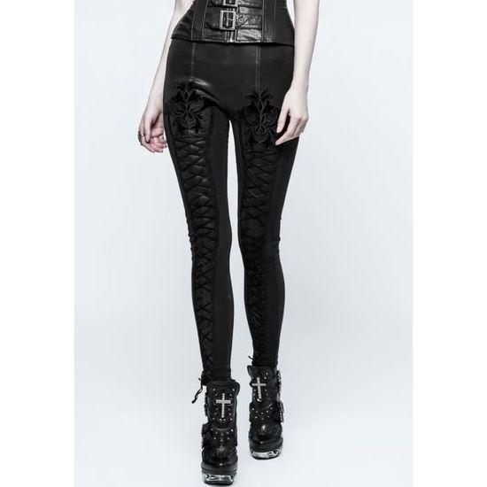 Gothique Achat Sans Vente Collant Noir Leggings D'hiver tdYwxpgqng