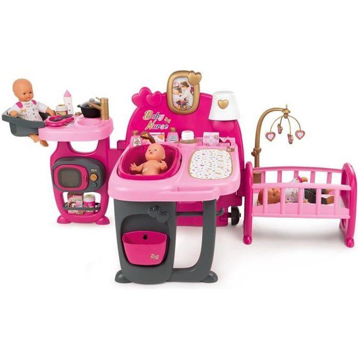 SMOBY Baby Nurse Grande Maison des Bébés - 23 Acs