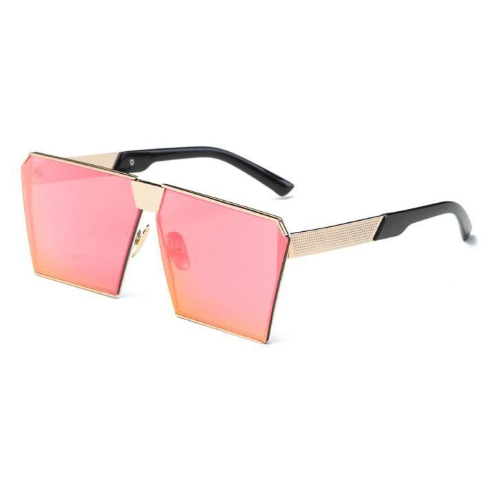 LJL70314134C@Femmes hommes Vintage rétro lunettes de mode unisexe aviateur miroir voyage lunettes de soleil
