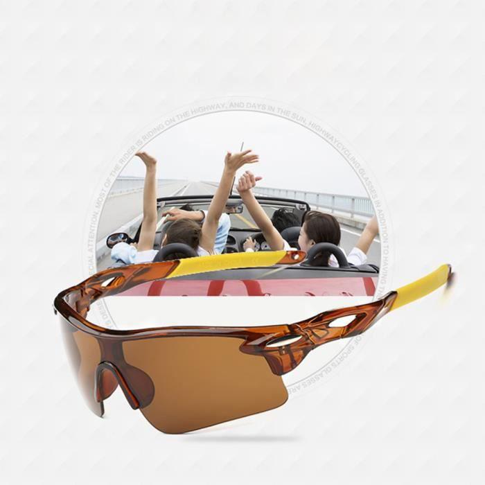 exquisgift®Extérieur sport vélo bicyclette équitation lunettes de soleil lunette UV400 Lens~WSS12041088