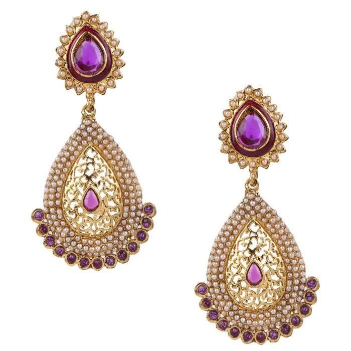 Womens Kundans Earrings For Jewellery Sets Imitation Pearl Earrings ForW0IQ4