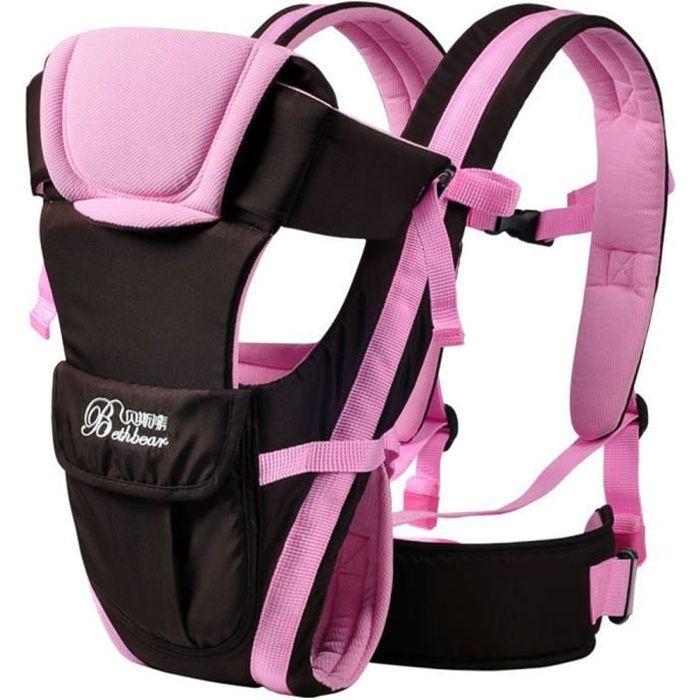 Nouveau-né Porte bébé réglable Sling Wrap Baby Carrier sac à dos ... af4d1cbc334