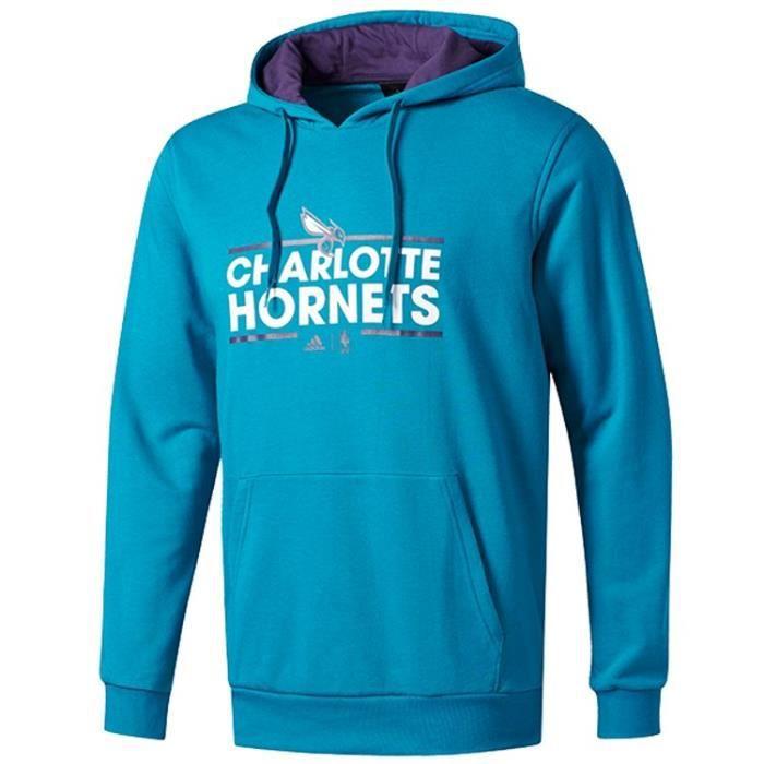 Adidas Basket Homme Sweatshirt Charlotte De Ball Hornets Nba rxrwBqt