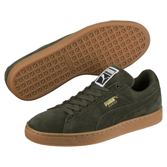 Puma Suede Classic Sneakers Basses Mixte Adulte Vert Forest green ... f3dbef055