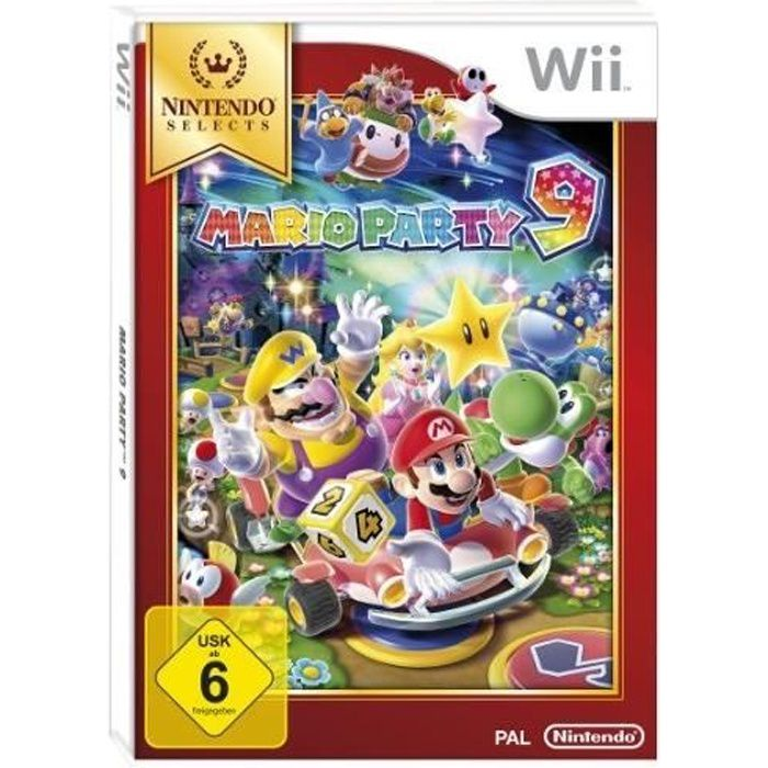 JEUX WII MARIO PARTY 9 - NINTENDO SELECTS…